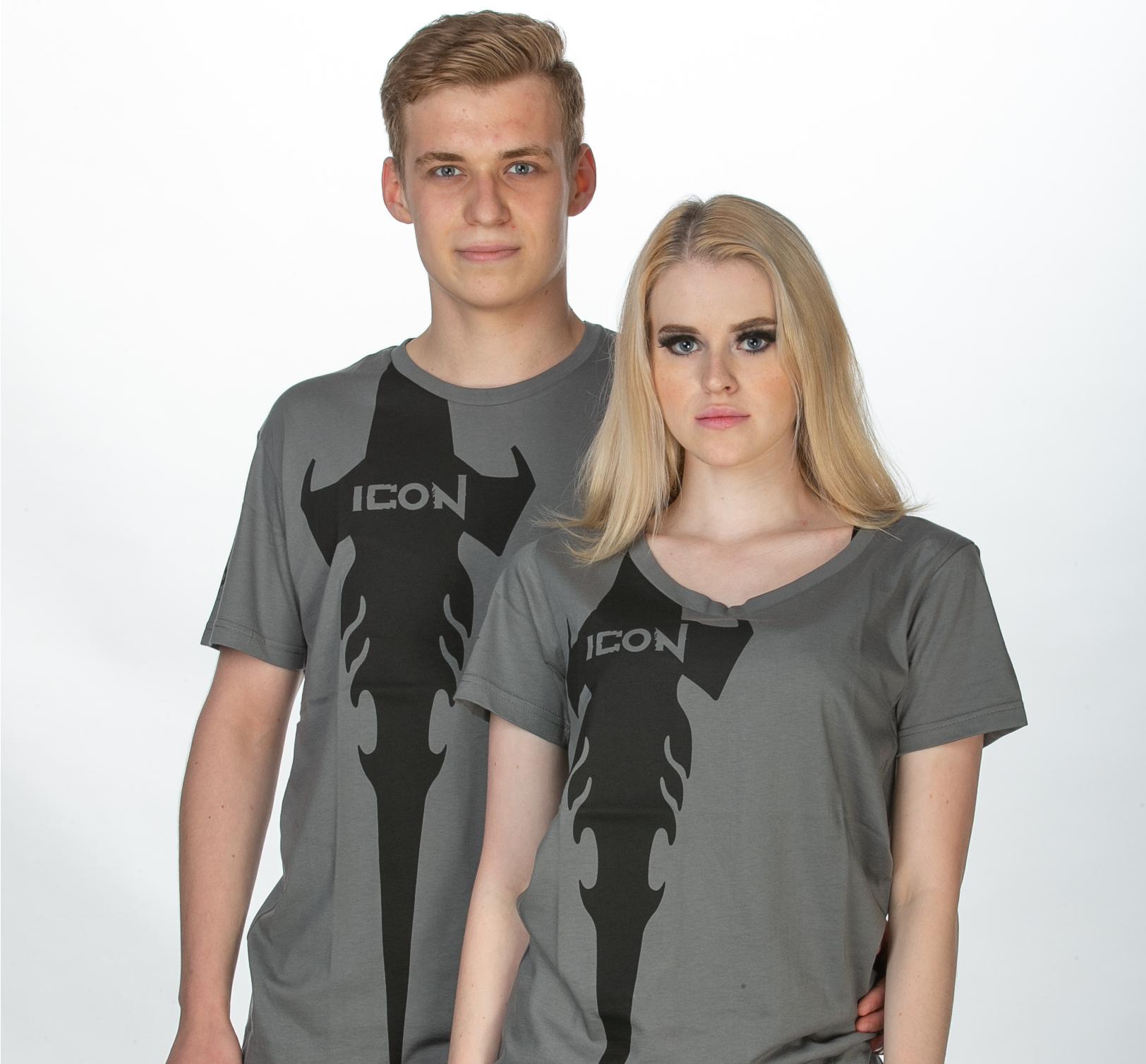 ICON Grey T 2