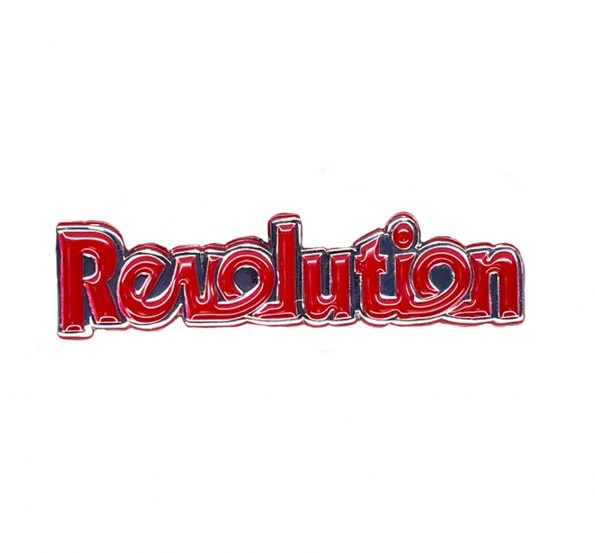 Revolution Pin Badge2