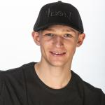 ICON Embossed Black Cap Profile