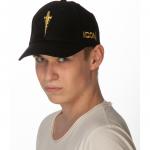 ICON Gold Logo Cap Profile