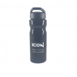 ICON Bottle Black W White Logo Profile