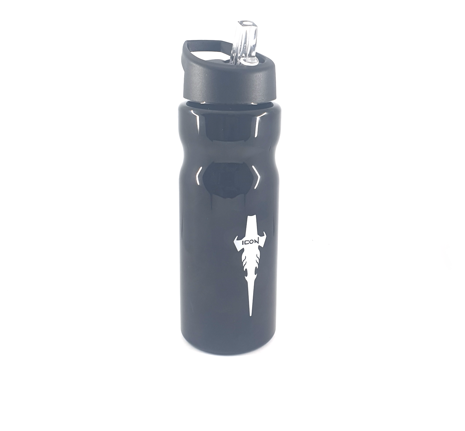 ICON Bottle Black W White Logo1
