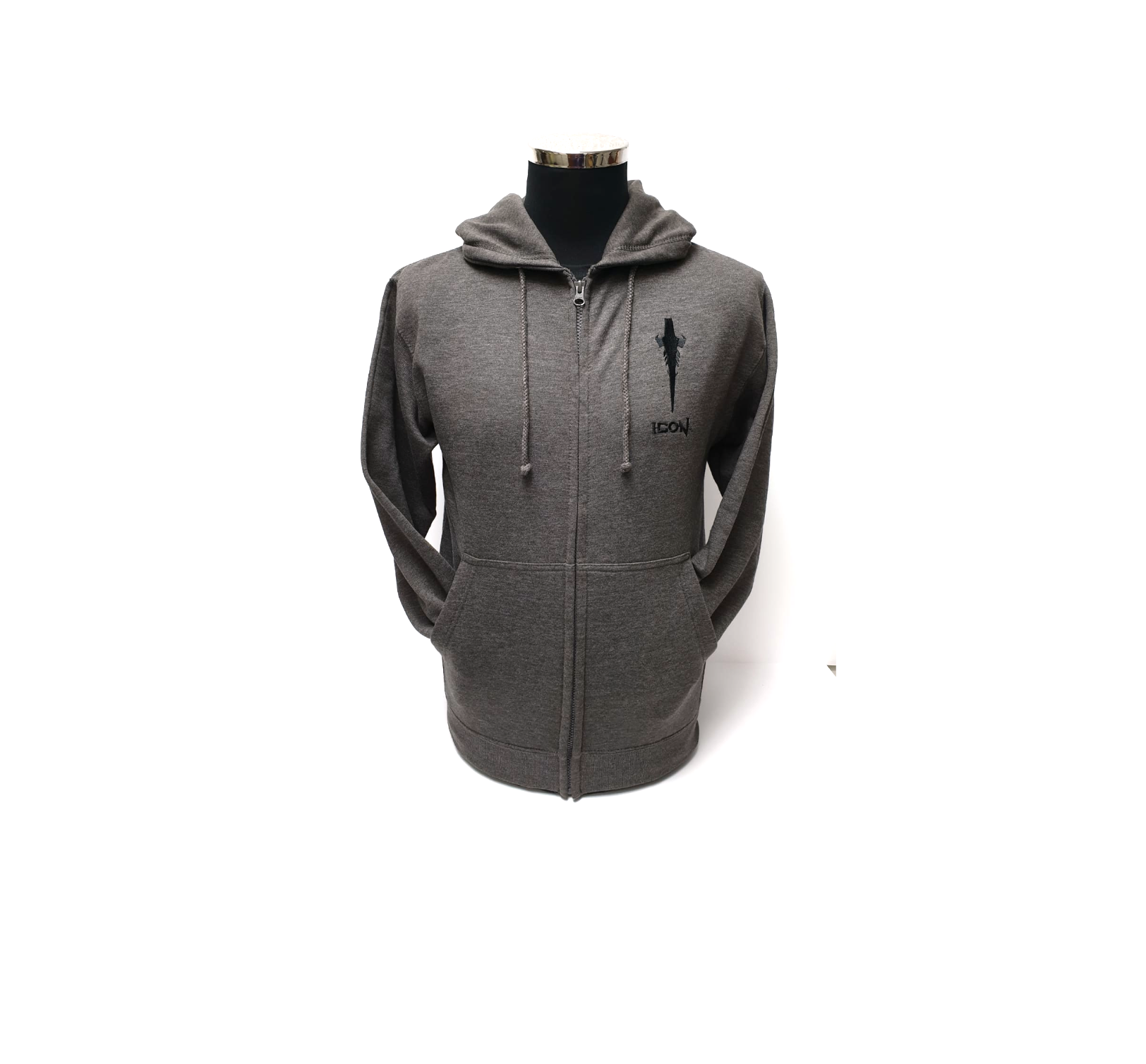 ICON Grey Dagger Hoody