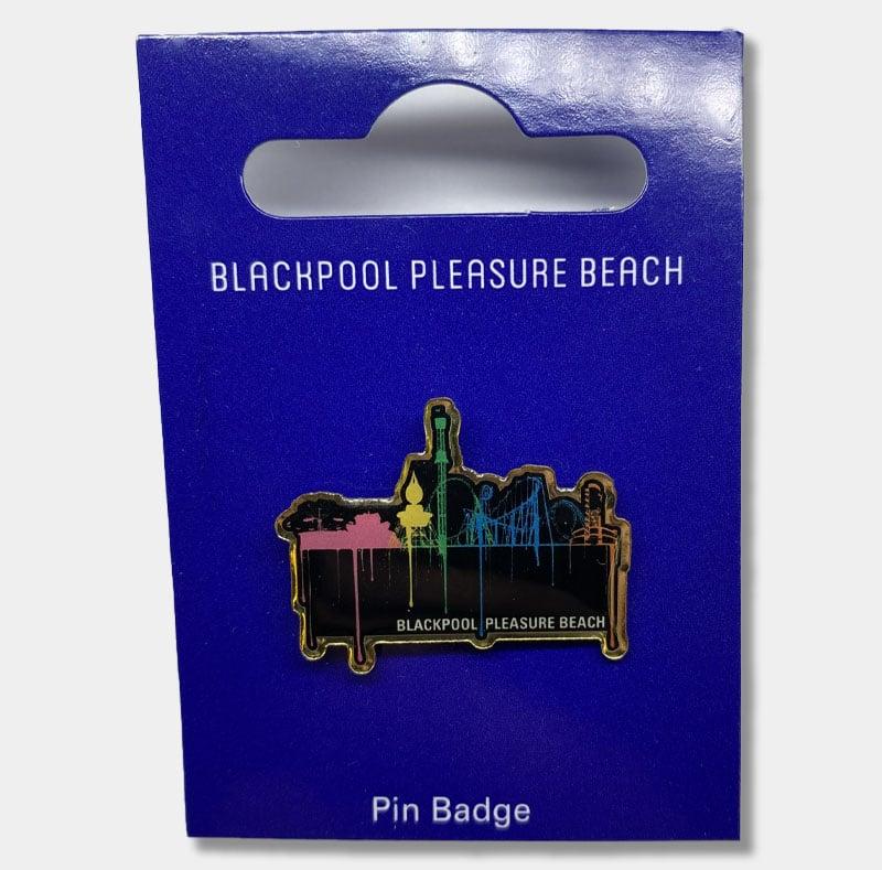 Skyline Pin Badge